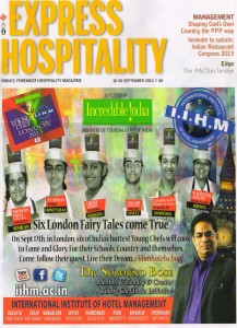 Express Hospitality, 16-30th september