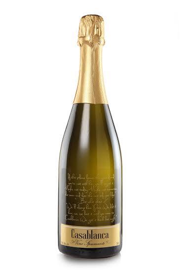 Casablanca Vino Spumante bottle shot