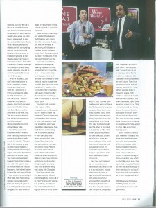 Man's World, Authored article - Page 55, July, 2015