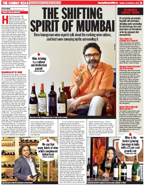 Mumbai mirror 11th sept