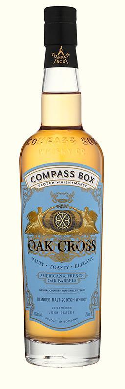 Compass Box Oak Cross,