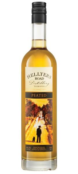 Hellyers Road Peated, Single Malt Whisky
