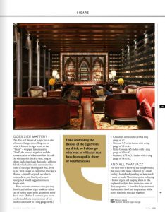 Business Traveller -3rd Anniversary - Authored Article - Cigar - April issue 2018 - 03 jpg