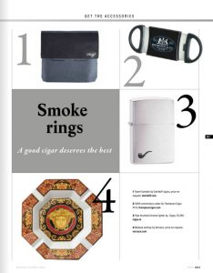 Business Traveller -3rd Anniversary - Authored Article - Cigar - April issue 2018 - 05 jpg