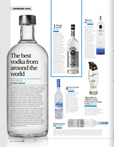Man's World - Vodka Story - All Things Nice - June 2018 issue - Page 40