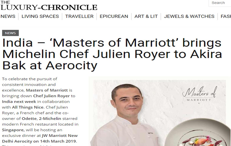 Luxury Chronicle