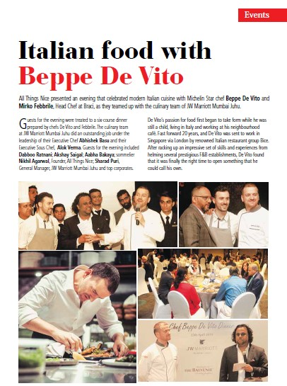 HRA Today_Chef Beppe De Vito_Page 13_June 2019